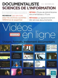 Documentaliste-Sciences de l'Information 2010/4
