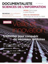 Documentaliste-Sciences de l'Information 2011/1