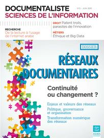 Documentaliste-Sciences de l'Information 2013/2