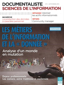 Documentaliste-Sciences de l'Information 2013/3