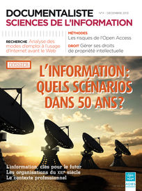 Documentaliste-Sciences de l'Information 2013/4