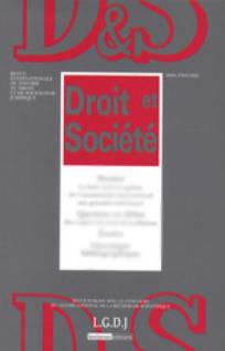 Droit et société 2007/2