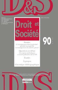 Droit et société