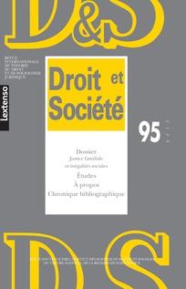 Droit et société 2017/1
