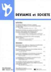 Déviance et Société 2001/4