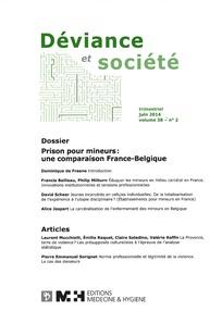 Déviance et Société 2014/2