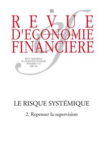 Revue d'économie financière 2011/1