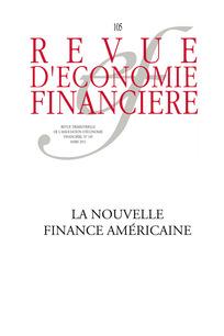 Revue d'économie financière 2012/1