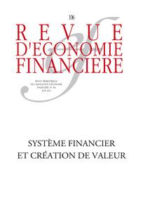 Revue d'économie financière 2012/2