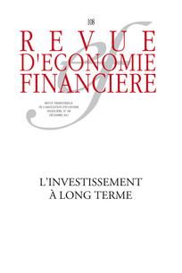 Revue d'économie financière 2012/4