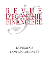 Revue d'économie financière 2013/1