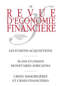 Revue d'économie financière 2013/2