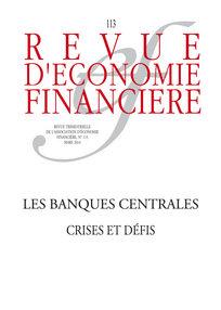 Revue d'économie financière 2014/1