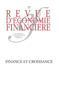 Revue d'économie financière 127 (01/09/2017)