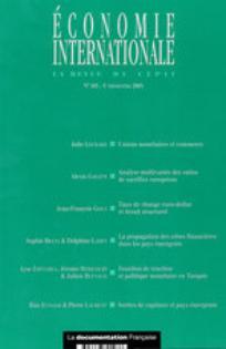 Economie internationale 2001/1