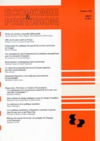 Economie & prévision 2005/2