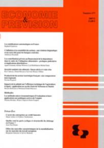Economie & prévision 2007/1