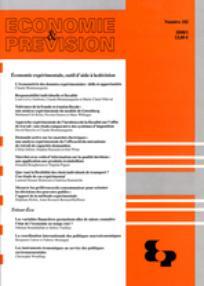 Economie & prévision 2008/1