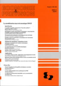 Economie & prévision 2008/2