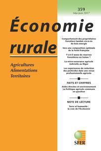 Économie rurale 2017/3