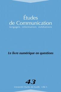 Études de communication 2014/2