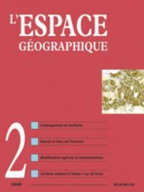 L'Espace géographique 2006/2