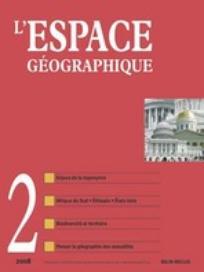 L'Espace géographique 2008/2