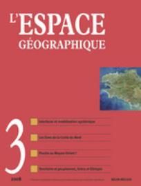 L'Espace géographique 2008/3