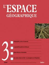 L'Espace géographique 2010/3