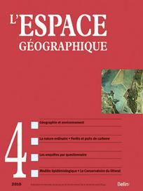 L'Espace géographique 2010/4
