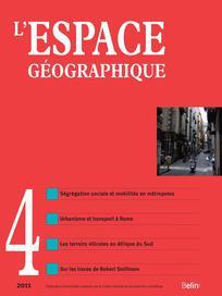 L'Espace géographique 2011/4