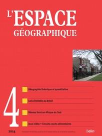 L'Espace géographique