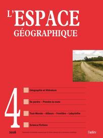 L'Espace géographique 2016/4