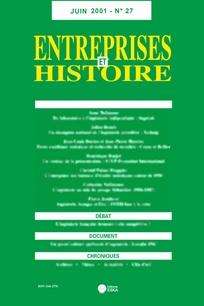 Entreprises et histoire 2001/1