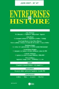 Entreprises et histoire 2007/2