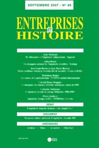 Entreprises et histoire 2007/3