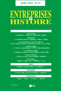 Entreprises et histoire 2008/2