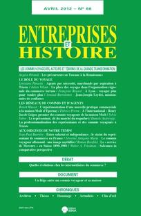 Entreprises et histoire 2012/1