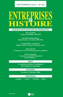 Entreprises et histoire 2016/3