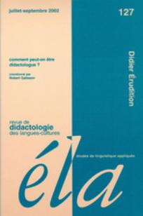 pourquoi et comment devenir didacticien