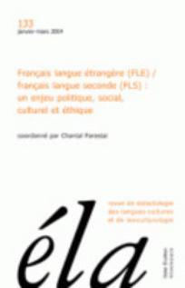 Ela. Études de linguistique appliquée 2004/1