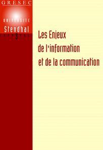 Les Enjeux de l'information et de la communication 2009/1