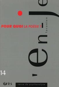 L'en-je lacanien 2010/1