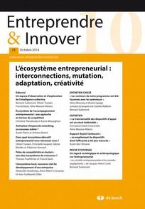 Entreprendre & Innover 2014/4