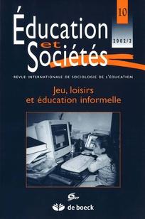 Education et sociétés 2002/2
