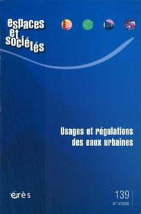 Espaces et sociétés 2009/4