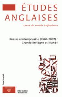 Études anglaises 2007/3