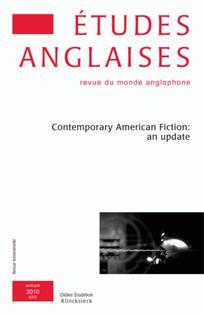 Études anglaises 2010/2