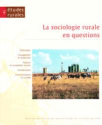 Etudes rurales 2008/1