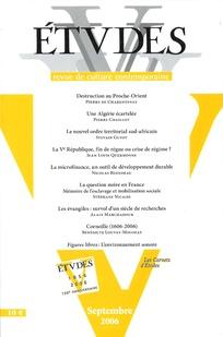 Études 2006/9